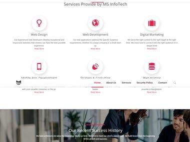 Web Services Company