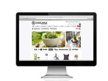 Coolima Onlineshop | eCommerce and Online Marketing