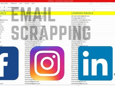 EMAIL SCRAPPING