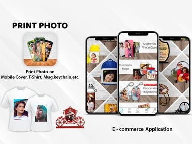 Print Photo -E commerce App with multi vender