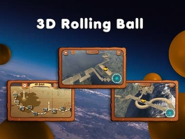 Balance Ball 3D Unity Game