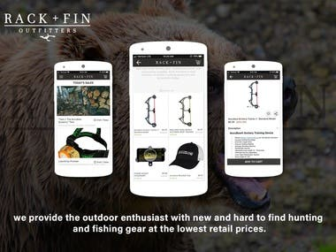 Rack + Fin Outfitters (Shopping app)