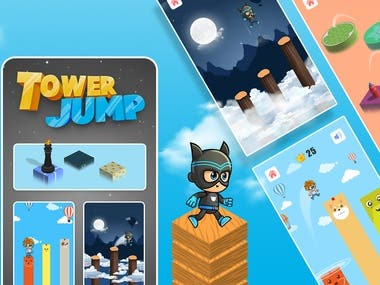 Tower Jumping- Block Jump (Arcade Game)