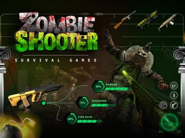 Zombie Shooter - 3D Animated Survival Games