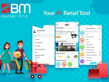 KBM Dealer Pro- The shopping app