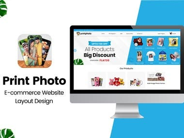 Print Photo -E commerce website with Multi Vendors