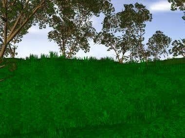 Procedural Foliage Generation