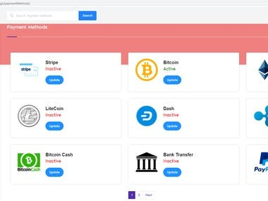 Wallet site with numbers of payment gateway integration