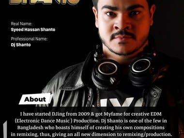 Dj Shanto The Beat Master