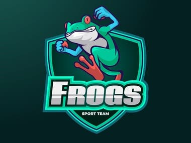 Frogs Logo Design