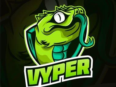 Vyper Logo Design