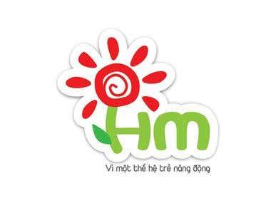 Logo Design - HoaMau logo
