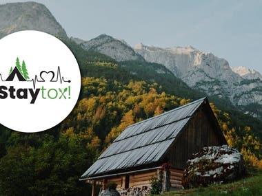 Staytox Compele branding