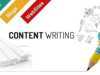 Articles,blogs,Website Contents