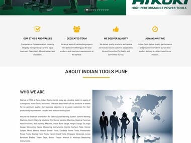 Laravel Indiantoolspune CMS Website Development