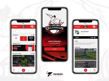A diversified sports training app