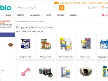 Upload products on Shopify Website