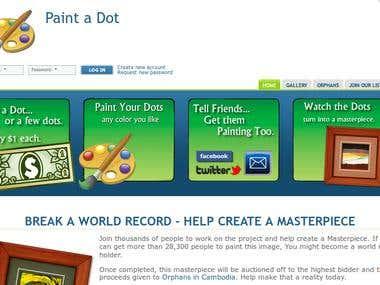 Javascript Virtual Painting