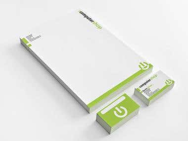 Computer Shop Stationery