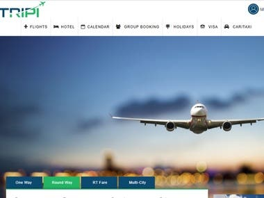 Be Tripi is online air ticket booking system