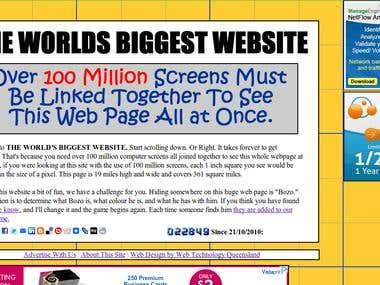 The Worlds Biggest Website