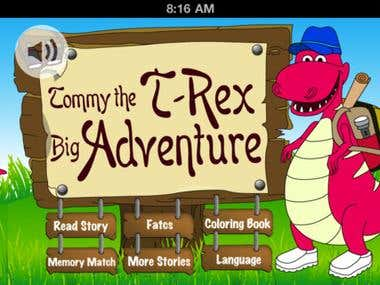 Tommy the T-Rex Big Adventure | iPhone & iPad