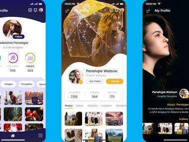 Profile Page (UI/UX)