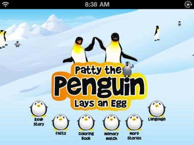 Patty The Penguin | iPhone & iPad App