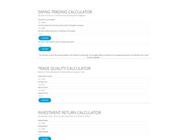 PORTFOLIO ANALYZER(STOCK CALCULATOR)