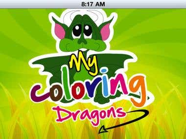 My Coloring Dragon | iPhone & iPad App