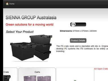 Websites Showcase: Joomla+Virtuemart