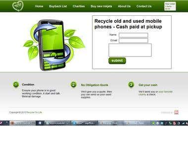 phoneflog.co.uk - HTML wesite