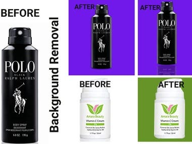 Background Removal,Photo Retouching and Color changing