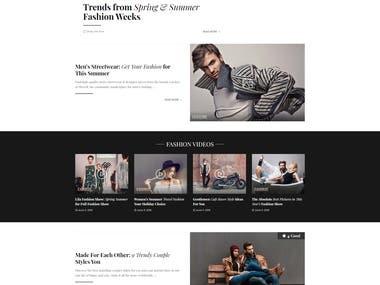 Online Magazine Portal