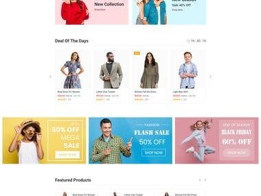 E-commerce Web Application Development