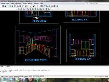 Auto CAD drafting 2D/3D