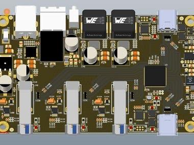 PCB 3D modeling