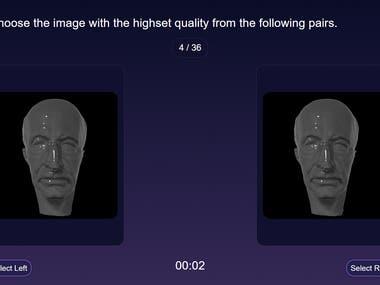Face Model Comparing App
