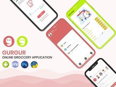 Gurgur (Online Groccery Application)