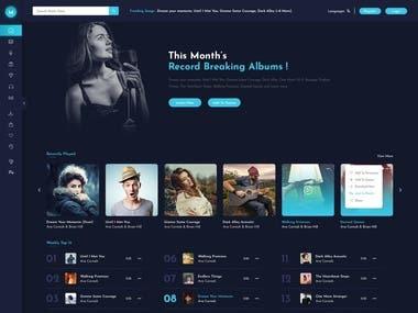 Online Music Store WordPress Theme