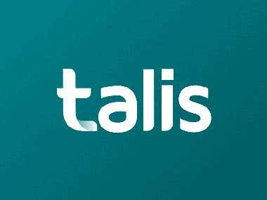 Logo animation Talis