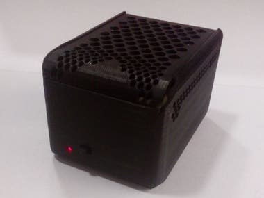3D design and prototype of enclosure