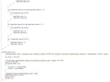 C programming firmware for wireless air pollution sensor