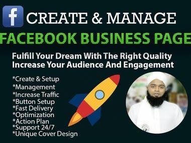 create a beautiful Facebook business page