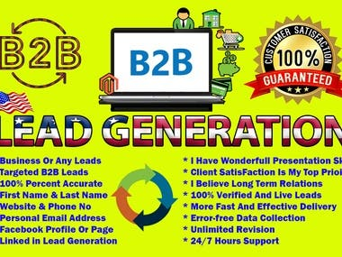 b2b leads generation for any targeted business