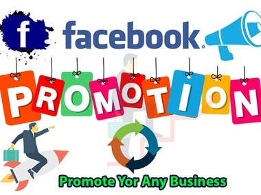 Facebook promotion any company in USA