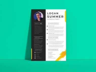 Resume writing and designing
