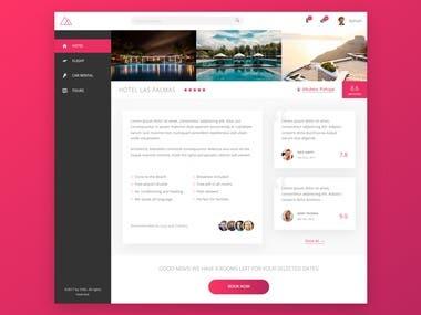 Hotel Booking Web App