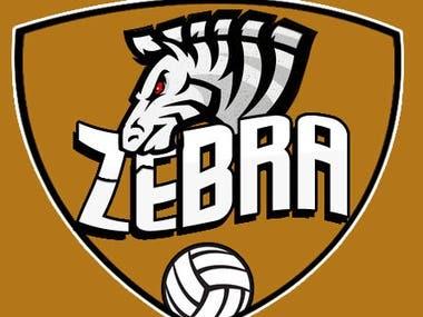 ZEBRA Mascot Logo