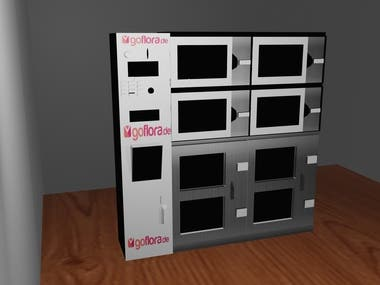 VENDING MACHINE DESIGN
